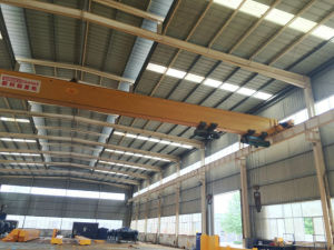 5ton 10ton 15ton 20ton Single Girder Overhead Crane with Electric Hoist pictures & photos