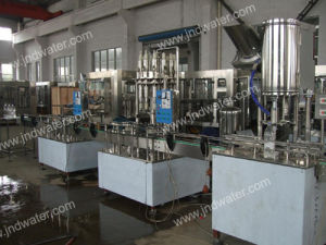 Linear Hot Beverage Washing Filling Capping Machine (JND 12121R) pictures & photos