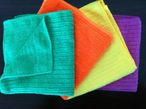 Microfiber Terry Strip Cloth (YYMC-100S) pictures & photos