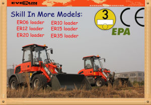 1.6 Ton Loading Capacity Mini Wheel Loader Er16 with CE Certificate pictures & photos