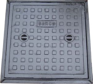 60X 60 Grey Iron Manhole Covers pictures & photos