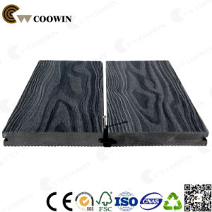 Price 3D Embossing Solid WPC Deck Composite Floor pictures & photos