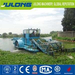 High Quality River Different Sizes Promotion Full Automatic Waterweeds Harvester/Water Cleaning Ship with Low Price