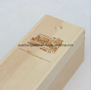 Wooden Wine Box for Packaging pictures & photos