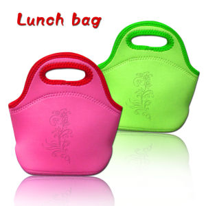 Custom Latest Neoprene Lunch Bag for Kids & Ladies pictures & photos