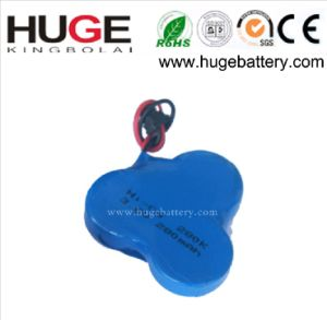 3.6V Rechargeable NiCd Button Cell Battery (3.6V 60mAh) (NI-CD battery) pictures & photos