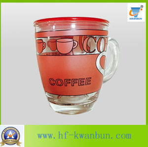 Nice Decal Glass Cup Mug for Coffee & Tea pictures & photos