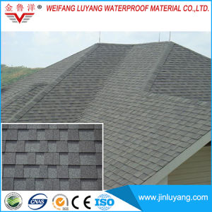 Double Layer Laminated Asphalt Roofing Shingle for Villa pictures & photos