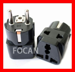 Germany Travel Adapter, Schuko Adapter with CE for European Market pictures & photos