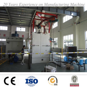 Hanger Type Wheel Sand Blasting Machine pictures & photos