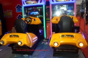 Coin Game Machine 3D Motion Street Racing Car Coin Machine pictures & photos