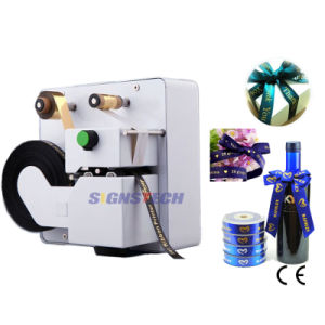 32mm Desktop Digital Ribbon Printer, Hot Foil Stamp Printing Machine for Ribbon pictures & photos