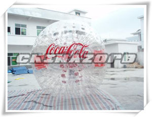 Custom Made Famous Branded Inflatable Zorbing Ball