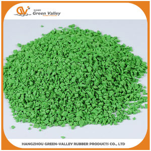 EPDM Granules EPDM Particles Rubber Flooring in Various Colors pictures & photos