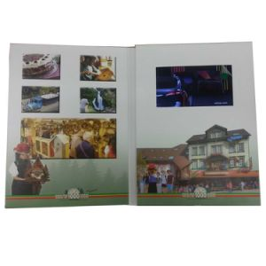 LCD Screen Video Wedding Invitation Card pictures & photos