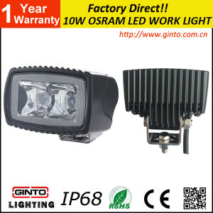 Portable LED Work Light 10W for Tractor LED Lamp 3inch pictures & photos