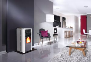 Modern Italian Wood Stoves, Pellet Burning Stoves (CR-02) pictures & photos