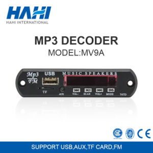 MP3 Bluetooth Decoder Board for 12V USB TF Card with Controller pictures & photos