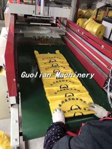 2 Line T-Shirt Plastic Bag Making Machine pictures & photos