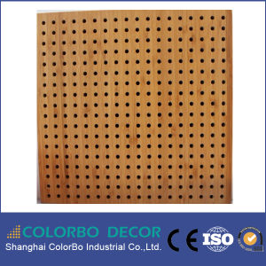 Office Veneer Wooden Acoustic Board pictures & photos