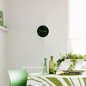 Electric Circling LED Digital Wall Time Clock pictures & photos