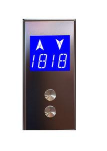 "4.3"" Simplex Customizable Passenger Elevator LCD Display for Otis pictures & photos"