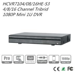 Dahua 4/8/16CH Tribrid 1080P Mini 1u Hdcvi DVR {Hcvr7104/7108/7116he-S3} pictures & photos