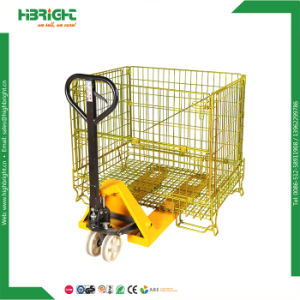 Stackable Wire Dump Bin Wire Mesh Container pictures & photos