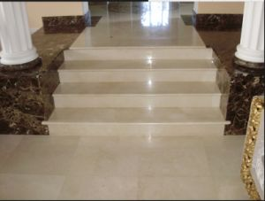 Crema Marfil Beige Marble Tiles and Marble Slabs pictures & photos
