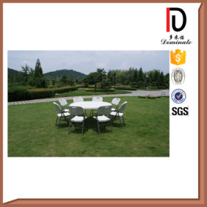 Folding Round Plastic Outdoor Dinner Table (BR-P015) pictures & photos