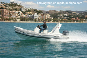 Liya 17feet Rigid Inflatable Boats Fishing Inflatable Rib Boats pictures & photos