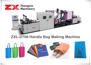 Non-Woven Fabric Packaging Bag Making Machine (Zxl-D700) pictures & photos
