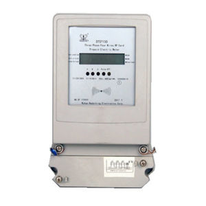 LCD Display RF Anti-Tamper Three Phase Four Wires Electric Energy Meter pictures & photos