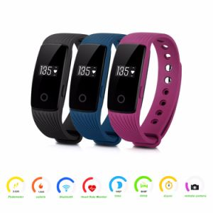 Heart Rate Monitor Bluetooth Smart Wristband ID107 Smart Band Smartwatch pictures & photos