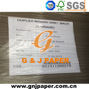 Grade AA Coated Duplex Gray Cardboard for Carton Making pictures & photos