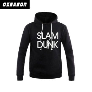 Free Design Wholesale High Quality Plain Pullover Custom Printing Black Hoodie pictures & photos