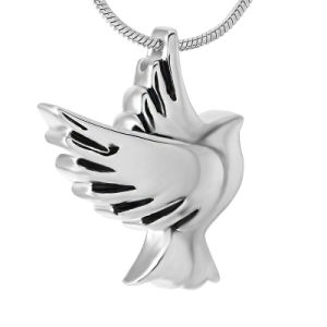 Fashion Stainless Steel Dove Cremation Urn Jewelry Pendant Necklace pictures & photos