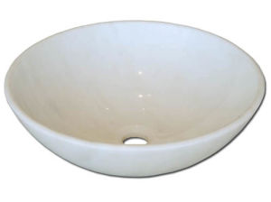 New Italian Bathroom Marble Stone Sink Washing Basin pictures & photos