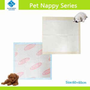 Us Fluff Pulp Disposable Style Pet Training Pads with Gel Teconology pictures & photos