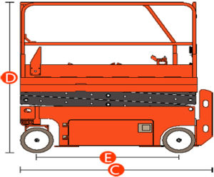 New Gtjz0408s Scissor Lift with Max Working Height 6.6m pictures & photos