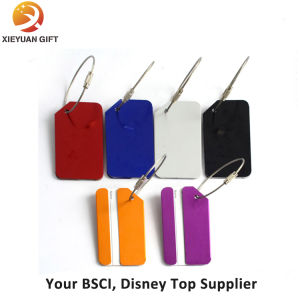 Factory Price High Quantity Custom Leather Luggage Tag pictures & photos
