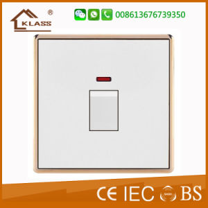 High Quality Hot Sale 1gang 1way Light Switch pictures & photos
