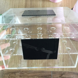 Wholesale Yageli Crystal Acrylic Flower Box Roses Box pictures & photos