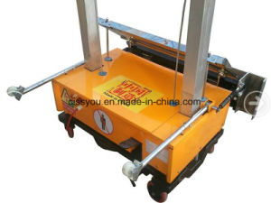 Automatic Mortar Cement Wall Rendering Plaster Machine pictures & photos