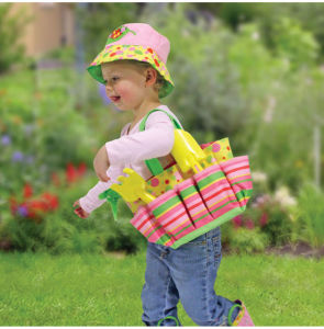 Blossom Bright Kids′ Gardening Tote Set pictures & photos