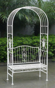 New Design Wrought Iron Leisure Swing for Outdoor and Balcony pictures & photos