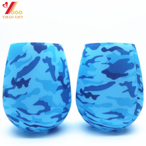 FDA Food Grade Silicone Foldable Wine Cup for Wine pictures & photos