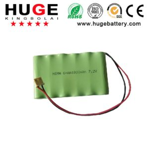 AA 1800mAh 7.2V NiMH Rechargeable Battery pictures & photos