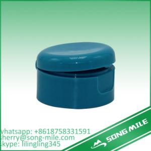 Non-Spill Plastic Shampoo Bottle Cap Flip Top Cap pictures & photos