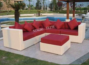 High Quality Luxury Garden Wicker Sofa (AY-S1003)